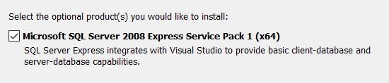 vc++ express install